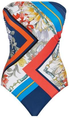 Gottex Plaited Strap Bandeau Swimsuit