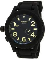 Nixon Men's 51-30 A2361041 Rubber Swiss Quartz Watch
