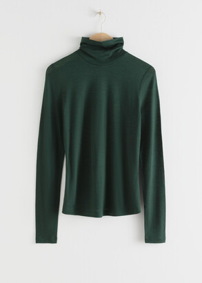 And other stories Thin Wool Knit Turtleneck