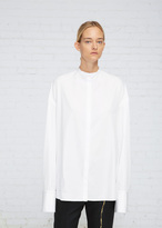 Haider Ackermann White / Ivory Double Cuff Shirt