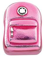 Persona Girl Sterling Silver Backpack Beads and Charm