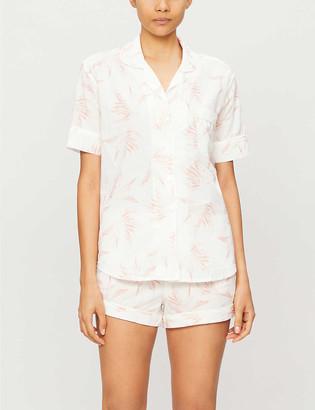 Desmond & Dempsey Deia organic cotton pyjama set