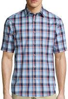 Claiborne Short-Sleeve Button-Front Shirt