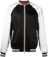 3.1 Phillip Lim Souvenir reversible varsity jacket - men - Cotton/Acetate/Viscose - M