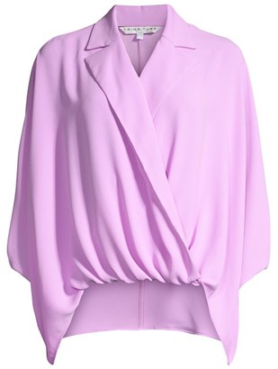Trina Turk Shore Draped Blouse