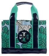 Tory Burch Printed Canvas Tote