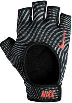 Nike Womens Fit Training Gloves - Grey/Black/Pink