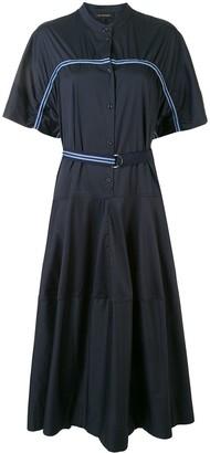 Lee Mathews Alice striped tape dress