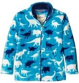 Hatley Silhouette Dinos Fuzzy Fleece Mock Neck (Toddler/Little Kids/Big Kids)