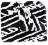 Karl Lagerfeld Paris K/Fur Scarf