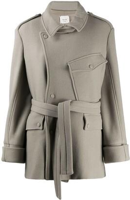 Alysi Tie-Waist Jacket