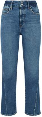Good American Twisted Seam Straight Jeans