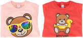 Moschino Kids - bear print body set - kids - Cotton - 3-6 mth