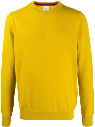 Paul Smith Rib-Trimmed Cashmere Jumper