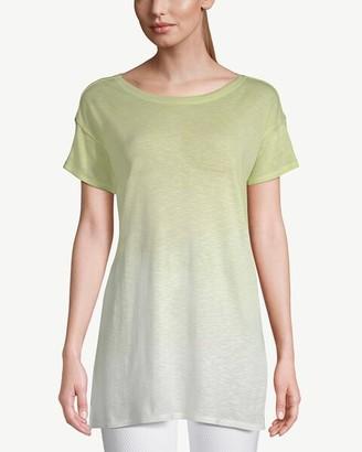 Zenergy Ombre Short-Sleeve Pima Cotton Tunic