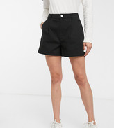 Asos Design DESIGN chino short in black