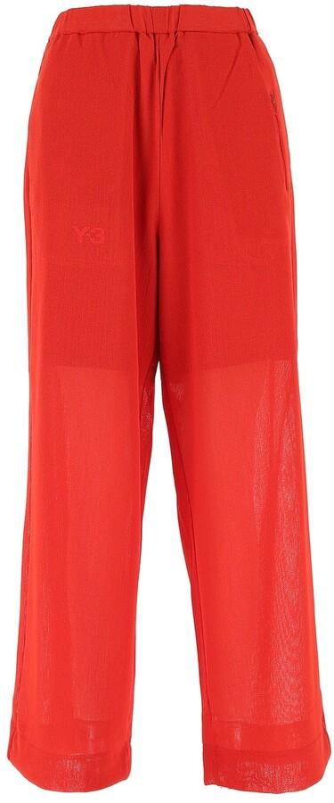 Thumbnail for your product : Y-3 Wide Leg Track Pants