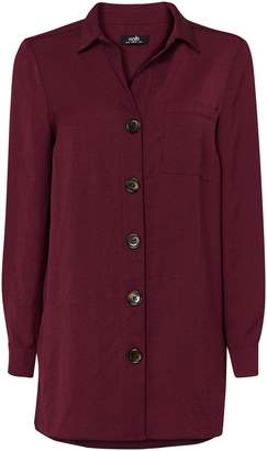 Wallis Berry Double Pocket Shirt