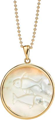 Ashley McCormick Pisces 18K Gold Necklace