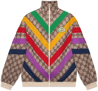 Gucci GG Supreme print jacket
