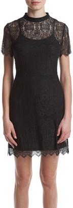 Kensie Women's Dainty Lace Dress