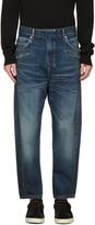 Balmain Blue Twist Jeans