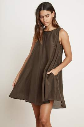 Velvet by Graham & Spencer Velvet By Graham Spencer Esther Silk Cotton Voile Tank Dress