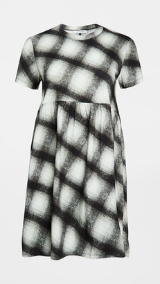 Ninety Percent Gathered Waist Mini Dress