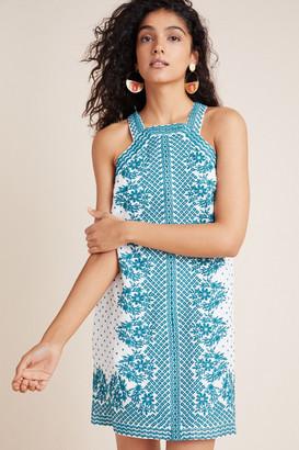 Maeve Natalie Embroidered Shift Dress