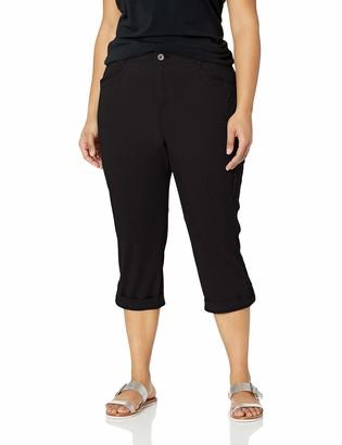Lee Women's Plus Size Flex-to-Go Relaxed Fit Cargo Capri Pant