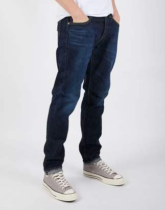 Edwin Made in Japan Regular Tapered Jeans in Dark Used Wash