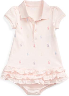 Ralph Lauren Ruffled Polo Dress & Bloomer