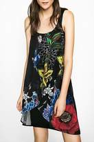 Desigual Floral Tuliped-Chiffon Dress