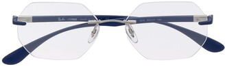 Ray-Ban Clear Round Glasses