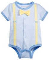 First Impressions Bowtie Snap-Up Bodysuit, Baby Boys (0-24 months)