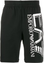 Emporio Armani Ea7 logo track shorts