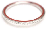 Raphaele Canot Skinny Deco Eternity Ring - Red Enamel