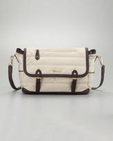 Burberry Messenger Diaper Bag, Trench
