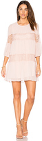BCBGeneration Peasant Lace Dress in Blush. - size XS (also in )