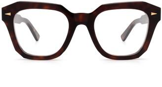 AHLEM Pont Des Arts Optic Raw 8mm Light Turtle Glasses