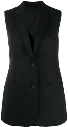 Helmut Lang Single Breasted Tailored Gilet
