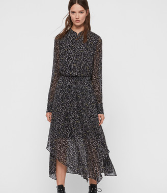 AllSaints Valeria Waterleo Dress