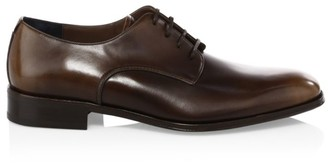 Salvatore Ferragamo Daniel Lace-Up Leather Derby Shoes