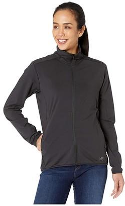 Arc'teryx Kyanite LT Jacket (Black) Women's Clothing