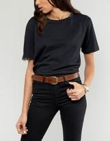 Reclaimed Vintage Embossed Leather Belt
