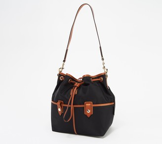 Dooney & Bourke Camden Collection Nylon Drawstring Bag