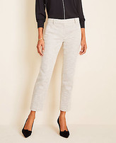 Ann Taylor The Petite Ankle Pant in Texture - Curvy Fit