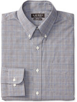 Lauren Ralph Lauren Men's Slim-Fit Stretch Glen Plaid Dress Shirt