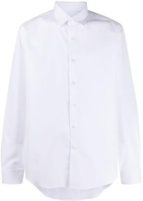 Salvatore Ferragamo Straight Button-Up Shirt