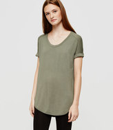 Lou & Grey Signaturesoft Shirttail Tee